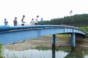 歌津 ウタちゃん橋にて