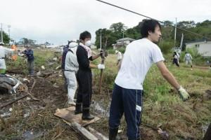 ボランティア参加者の声写真